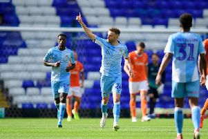 Matty Godden was among the goals for Coventry