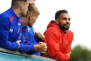 Ryan Atkins is in line to complete his Wakefield Trinity return on Friday night.