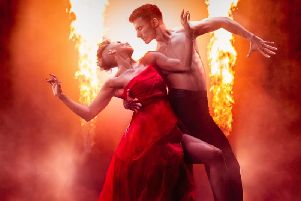 Strictly pair Karen Hauer and Gorka Marquez bring their new live show Firedance to Lincolnshire next year.