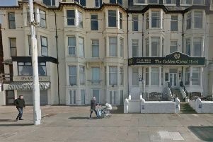 Fire crews and paramedics were called to The Golden Cheval hotel in Promenade, Blackpool at 11.15pm last night (September 8) after tear gas grenades were used in a police-led incident.