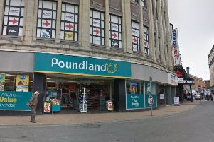 Poundland just off Adelaide Street West.
