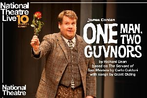 James Corden stars in One Man, Two Guvnors