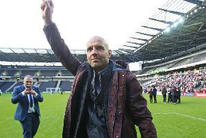 MK Dons boss Paul Tisdale steered them to promotion last season