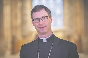 The Bishop of Burnley, the Rt Rev. Philip North