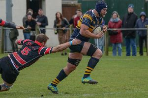 Bridlington RUFC player-coach Mike Myerscough