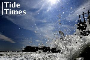 Fancy a stroll along the beach? Check out this week's high tide times for Bridlington.