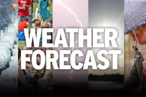 The weather forecast with Trevor Appleton.