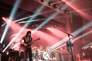 Kasabian at The Spa in 2013.