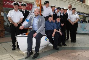 The Promenades Shopping Centre supported Bridlington Sea Cadets last year.