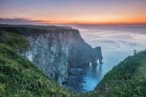 Staple Sea Arch, Bempton.'Picture: George Stoyle.