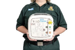 Funding is available for two new defibrillators in South Tyneside