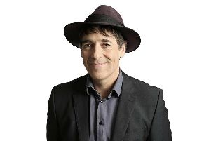 Comedian Mark Steel is on tour