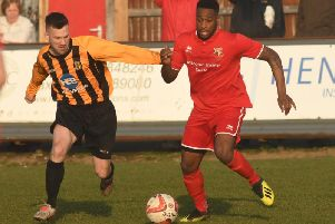 Nathan Modest scored Brid's third and final goal