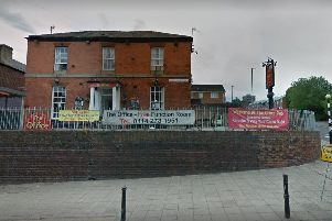 Christopher Beechill has been jailed over threats to burn down The Office pub in Upperthorpe. Picture: Google