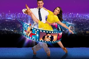 Aljaz and Janette in Remembering the Movies