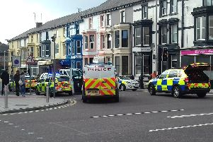 A large number of emergency vehicles responded to the incidents.