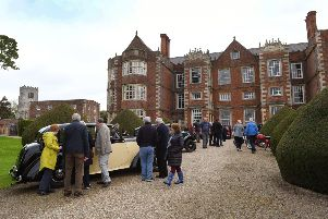 Vintage and classic vehicles will be on show in the grounds of Burton Agnes Hall.