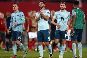 Will Grigg has returned to Sunderland after picking up an ankle injury while on international duty with Northern Ireland.