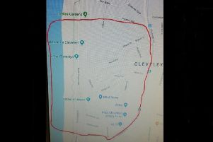 Police uploaded this map of the area covered by the dispersal order this weekend
