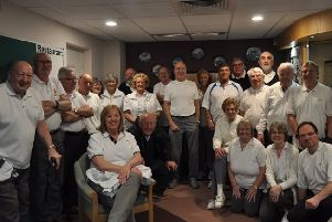 Riverside Indoor Bowls club members had to travel to Lincoln to play
