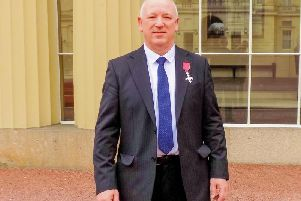 John Clough who has received the MBE
