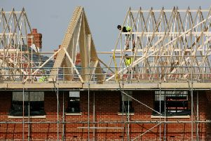 Building started at 1,410 sites in the East Riding in 2018.