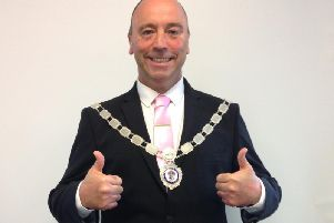 Cllr Liam Dealtry, mayor of Bridlington