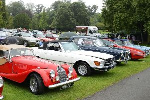 The East Yorkshire Thoroughbred Car Club will be showcasing classic cars at Sewerby Fields.
