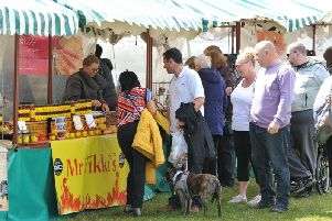 Food and drink producers from across the region and beyond have been offering their goods as part of the Proper Food Festival at Bents Park in South Shields.