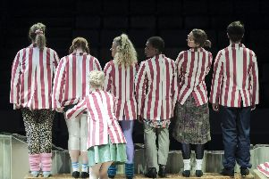 The play is set in a tap dancing class in the north of England
