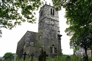 St Peter's church, Sowerby