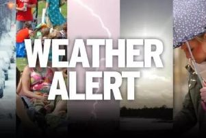 Heavy showers and thunderstorms may cause some travel disruption and flooding
