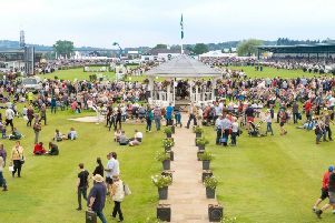 Crowds at the Great Yorkshire Show