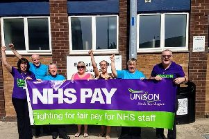 Blackpool Vic staff to go on strike. Picture provided by UNISON
