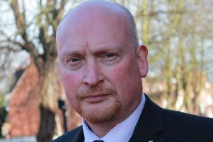 West Yorkshire Police Federation Chairman Brian Booth
