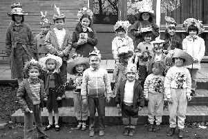 Is this an Easter Bonnet parade back in 1986?