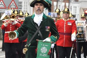 East Riding Town Crier Michael Wood