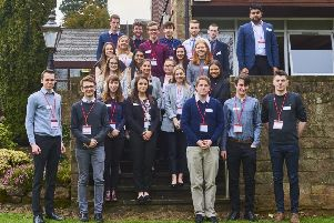 Hazelwood chemicals company Lubrizol has recruited a record number of placement students from universities across the UK to work with the company for the next 12 months.