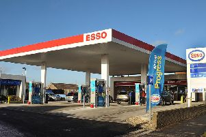 Esso Garage on Scarborough Road