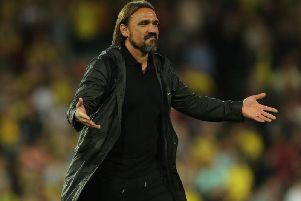 Norwich City head coach Daniel Farke