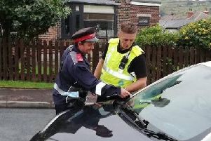The crackdown saw a week of action taking place across Calderdale.