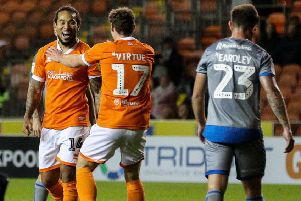 Blackpool go into Monday night's game against Bolton Wanderers on the back of victory against Lincoln City last Friday
