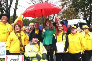 Angela Rayner MP joins hospital campaigners