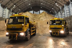 A new salt barn is being planned in Calderdale
