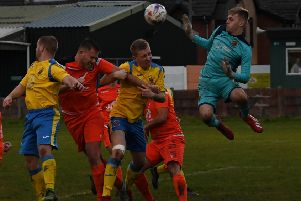 AFC Blackpool lost to Atherton LR on Saturday     Picture: Adam Gee