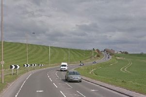 The alleged incident happened on the A655 between Wakefield and Normanton.