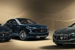 The Royale  range of Maseratis
