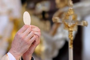 Church goers will not be allowed to kiss the feet of Christ on Good Friday as the Diocese ramps up its efforts to tackle the spread of Coronavirus.