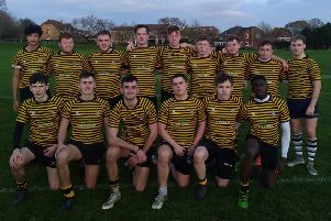 CASHING IN: The Crossley Heath School rugby team has landed a second year of funding.