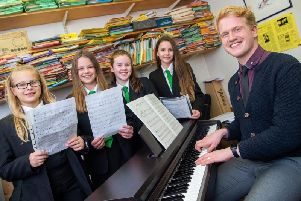 Charlie Rhodes has joined Rastrick High School as Director of Choirs